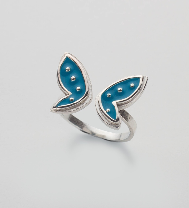 Always With Love Butterfly Ring