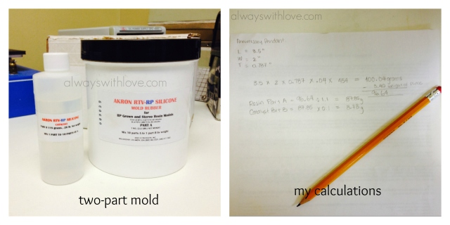two part mold