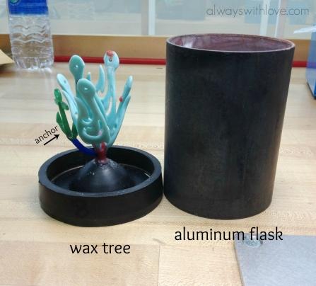 wax sprue