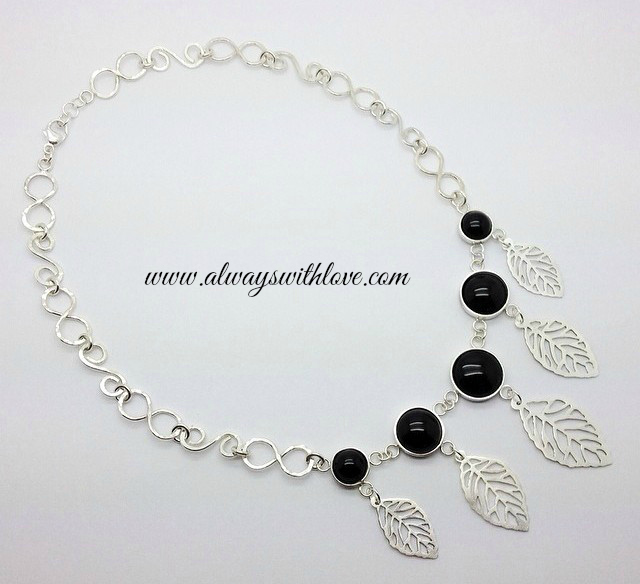 leaves necklace - always with love