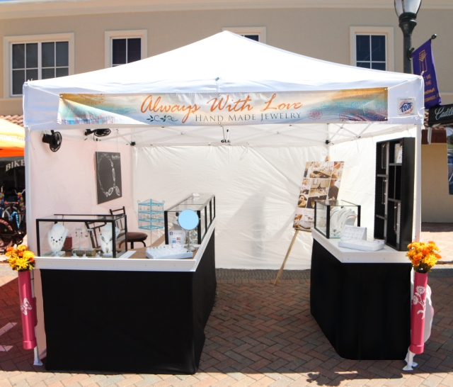 always with love jewelry booth