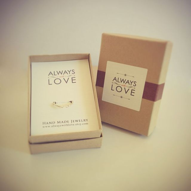 Always With Love Jewelry Packaging